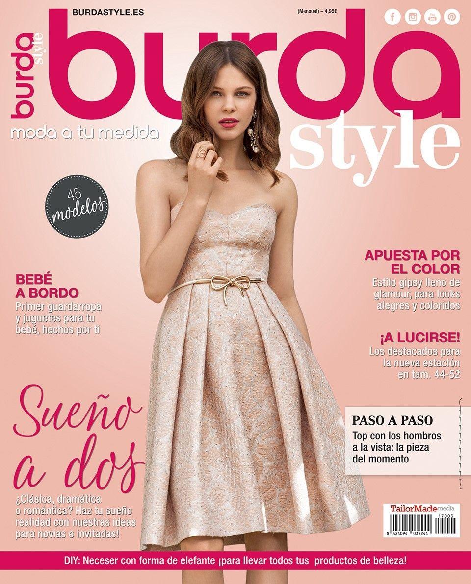 burda style 03/2017 | Burda style es | Pinterest