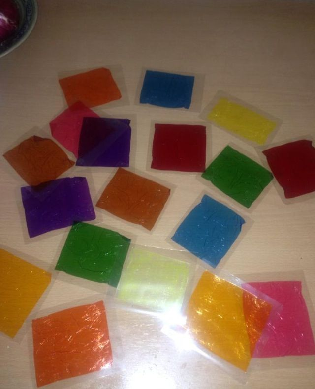 Quality Street Chocolate Wrappers Laminated Great To Teach Kids How