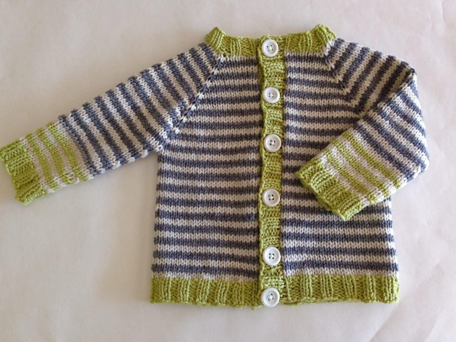 Knitionary: totally free/totally adorable baby cardigan ...