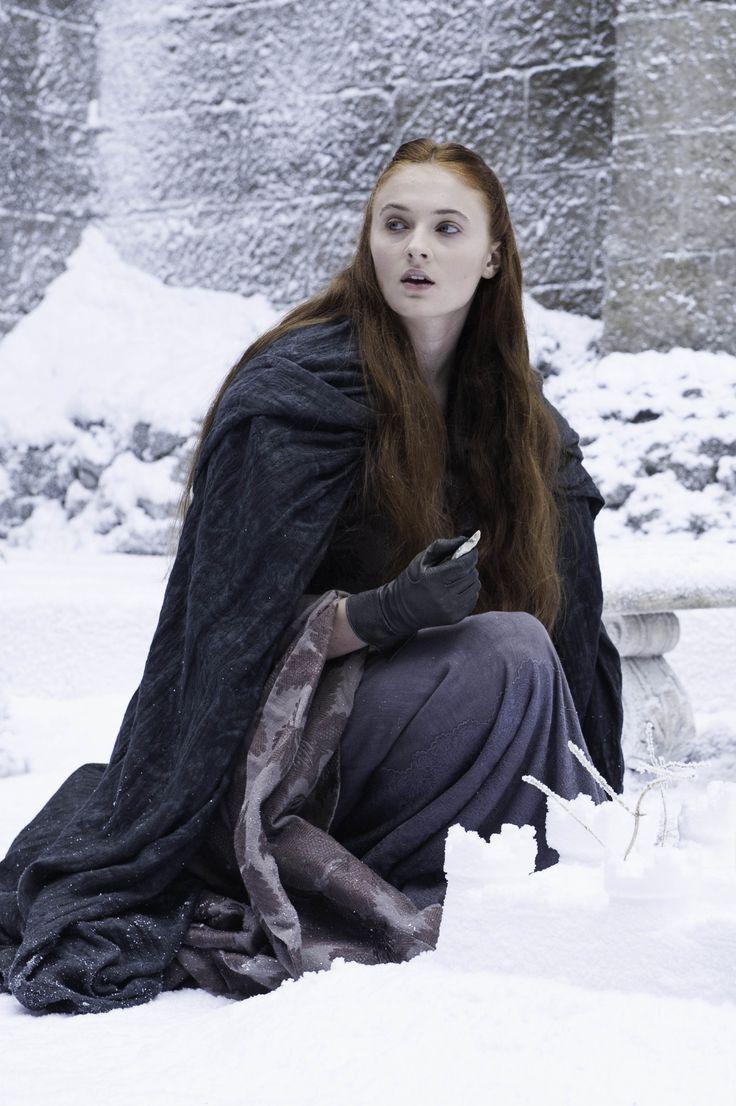Sansa on the Eyrie