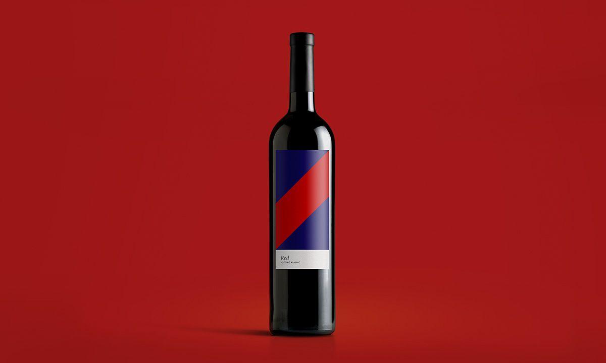 Packaging For Vostinic Klasnic Wines By Size Agency Via The Design Blog Wine Label Design Label Design Wine Label