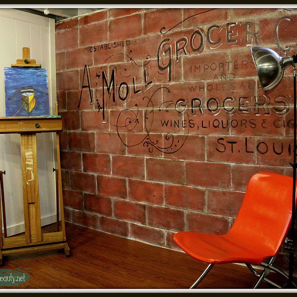 Play Room Turned Art is Beauty Art Studio for Under $200 Reveal