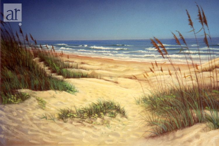 Padre Sand Dunes South Padre Island Tx Watercolor Pictures