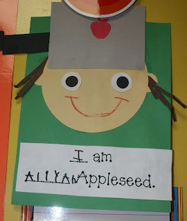 Johnny Appleseed Craft Projects To Try Preschool Apple Theme