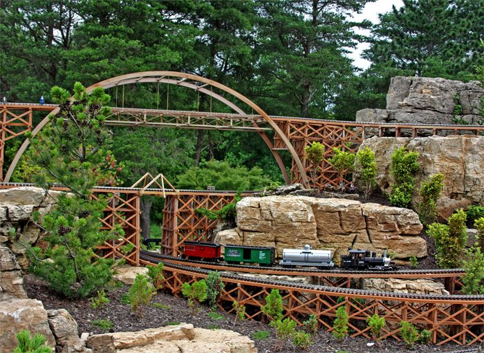 garden railroads The Taltree Railway Garden features dozens of