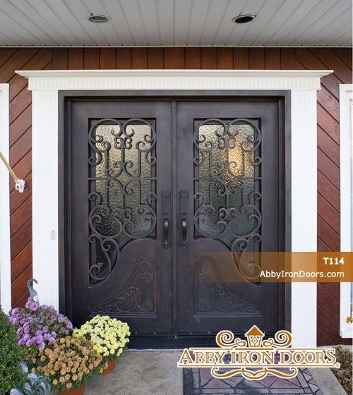 Abby Iron Doors & Abby Iron Doors | new home | Pinterest | Popup Iron doors and Doors pezcame.com