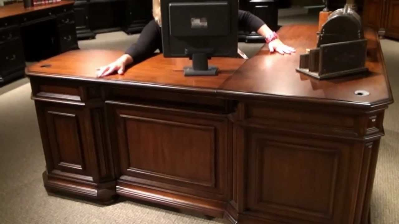 Cantata L Shaped Computer Desk By Riverside Furniture Home