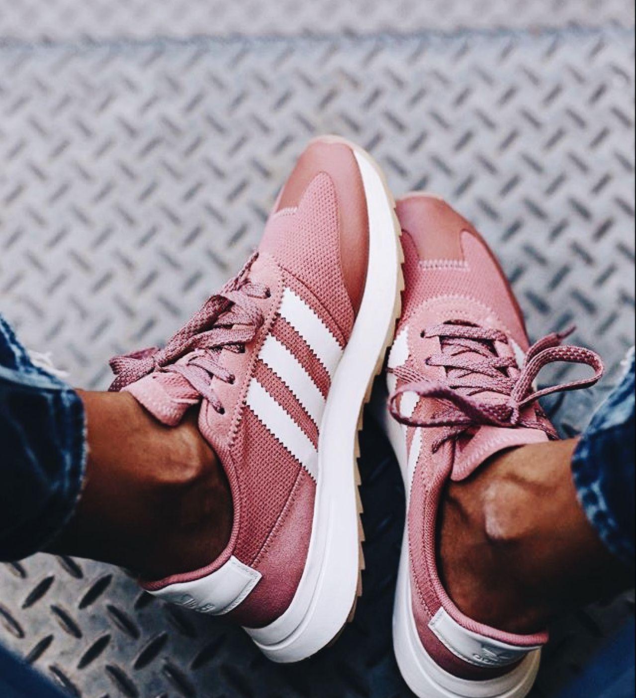 179de494ca8 Pink New Balance Tenis Adidas, Adidas Sneakers, Pink Adidas Shoes, Shoes  Sneakers,