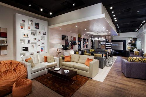 Being A Furniture Store Lovesac That Located In The Woodlands Mall