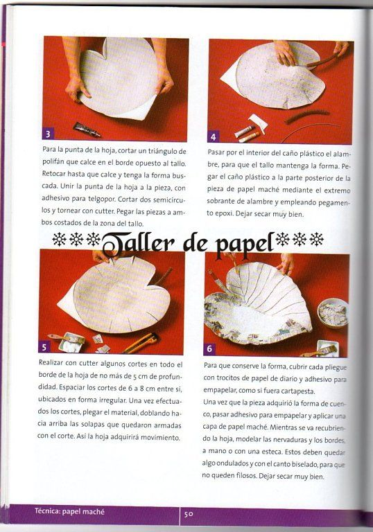 TALLER DE PAPEL *** (pág. 58) | Aprender manualidades es