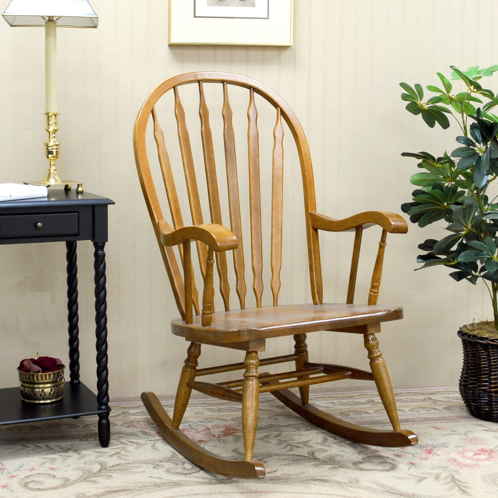 Hudson Bow Back Rocking Chair | from hayneedle.com
