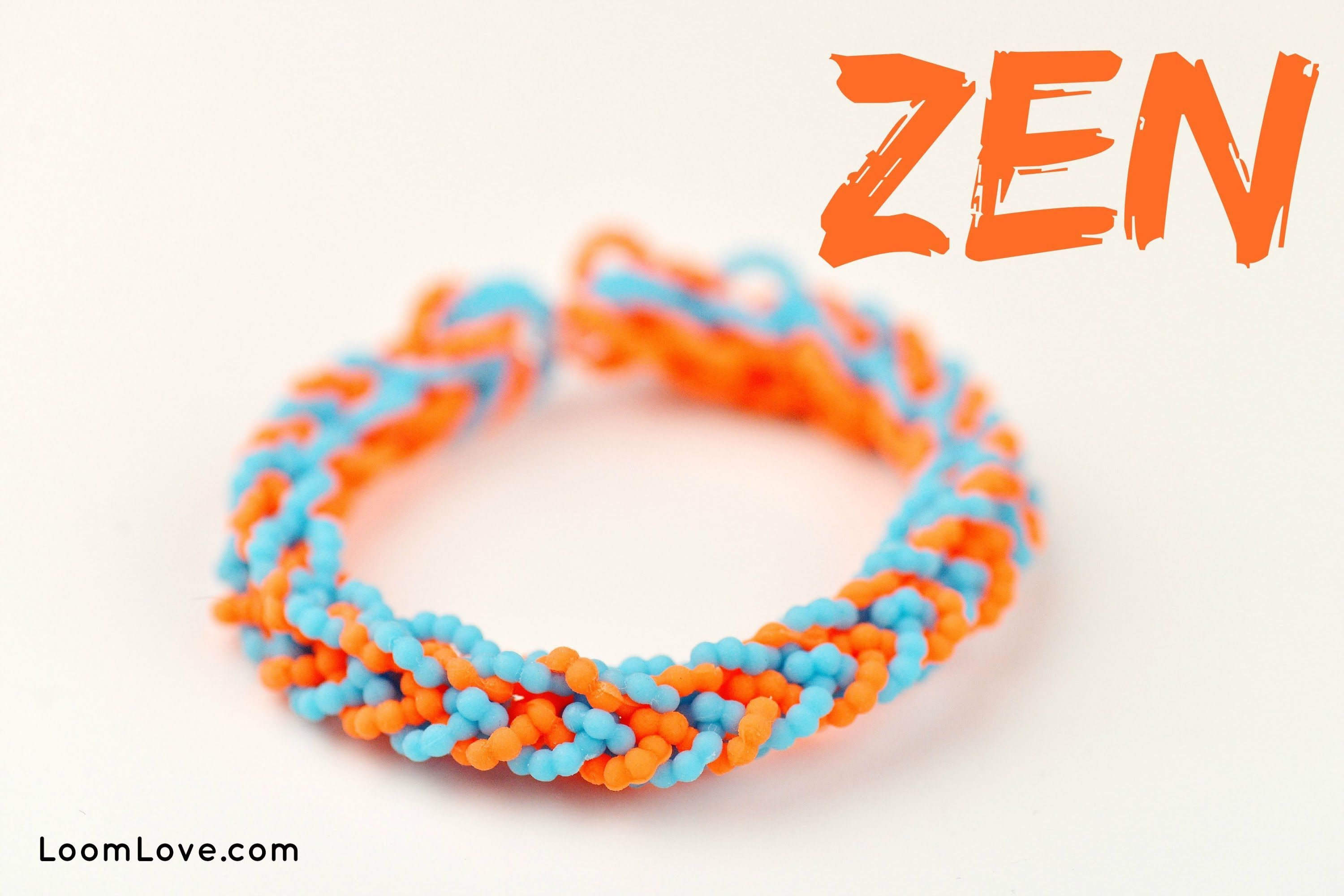 nice How to Make a Zen Rainbow Loom Bracelet                                                                                                                                                                                 Mais
