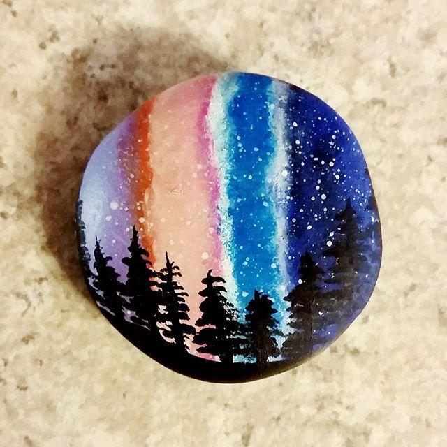 Rock Painting Idea Painted Rocks Pinte