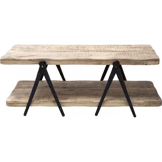 Table Basse en bois Scissors 120x65cm Kare Design | Scissors