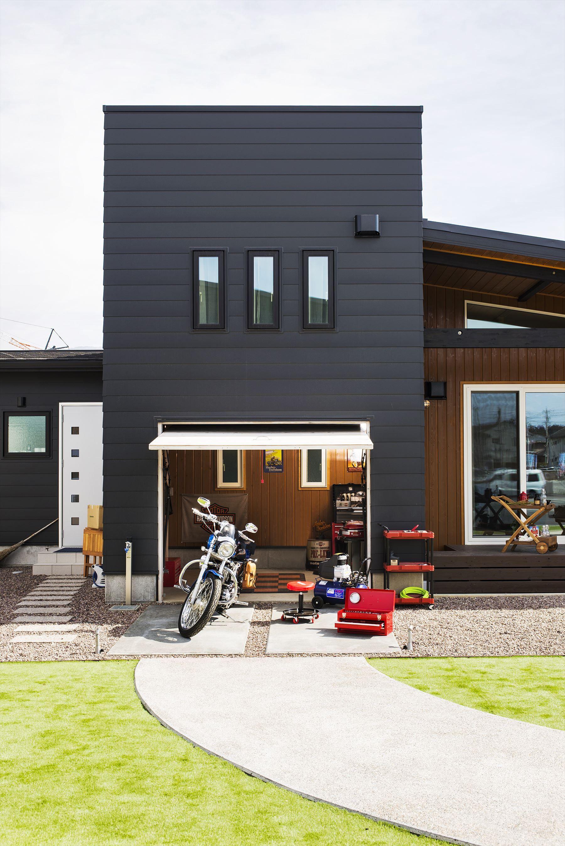 ガレージ 工具収納 おしゃれまとめの人気アイデア Pinterest Hiromi Nagamine 2020 ビルトインガレージ 新築一戸建て 木の家