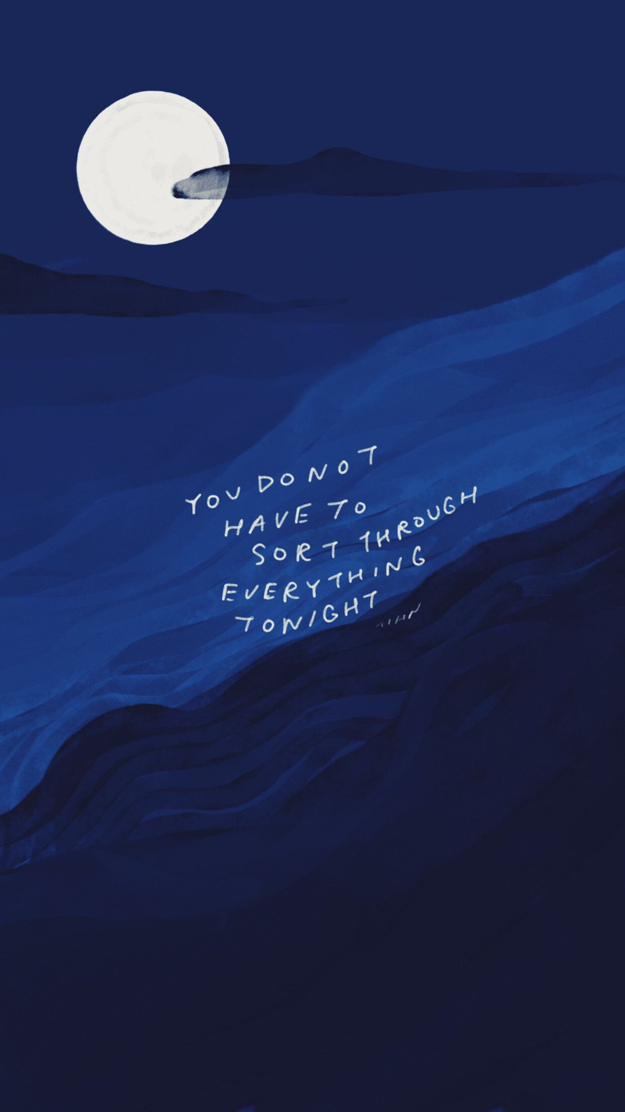 You do not have to sort through everything tonight — Morgan Harper Nichols