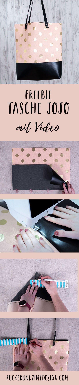 Tasche JoJo nähen || Kostenlose Nähanleitung – Zucker und Zimt Design