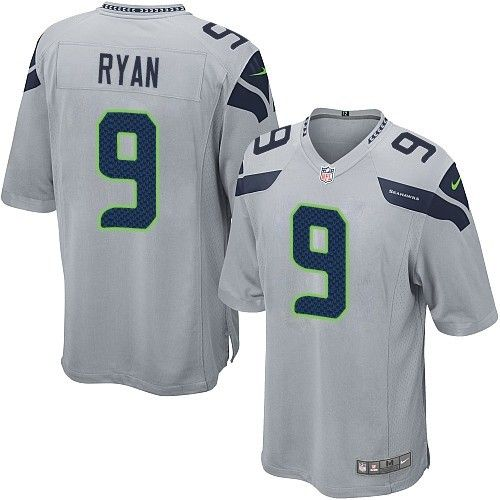 Nike Limited Jon Ryan Grey Youth Jersey - Seattle Seahawks  9 NFL Alternate c916b442c