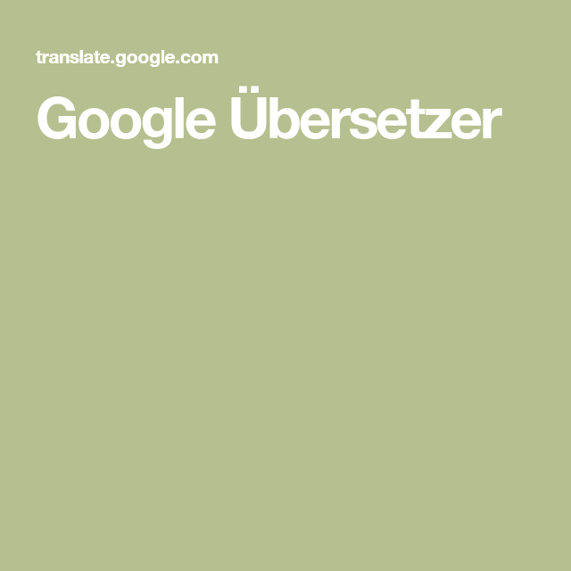 Photo of Google Übersetzer