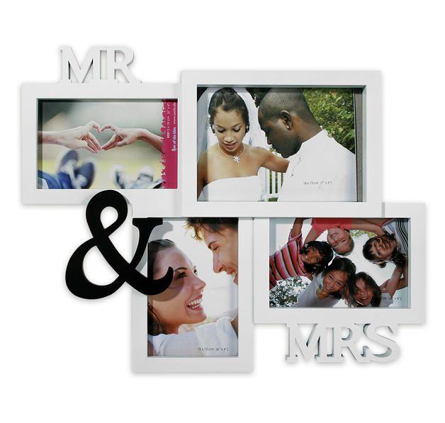 Der Fotorahmen Mr /& Mrs