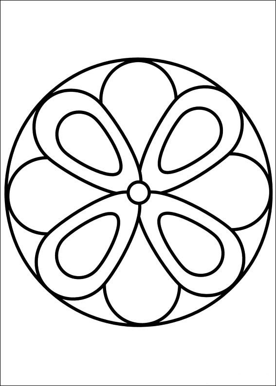 Mandalas Coloring Pages 18 | Coloring pages for kids | Pinterest ...