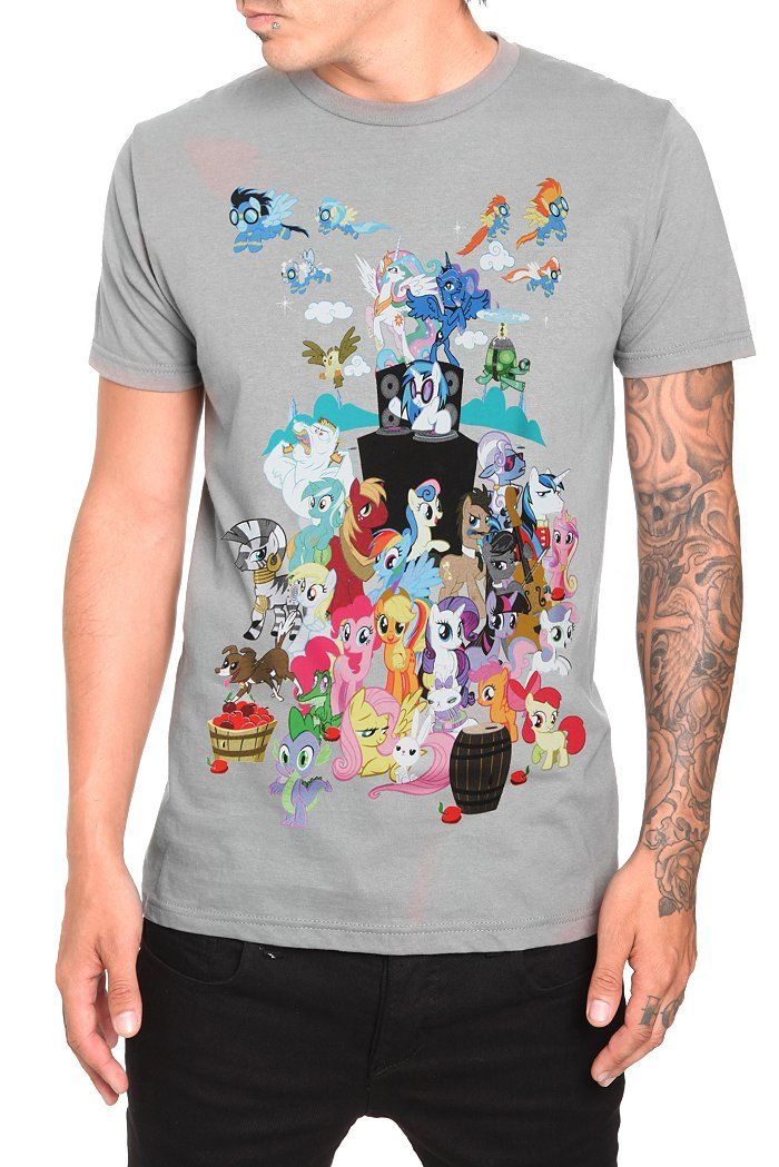 21bd6ce25a0f3 MY LITTLE PONY HEROES T-SHIRT | My Little Pony Merch Wish List ...