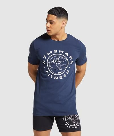 Gymshark Legacy T-Shirt - Dark Blue