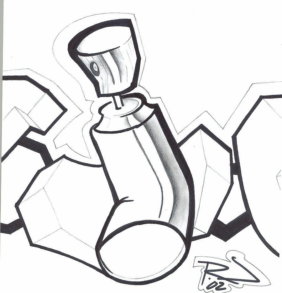 Spray Can By Mgi Graffiti Drawing Graffiti Characters Graffiti