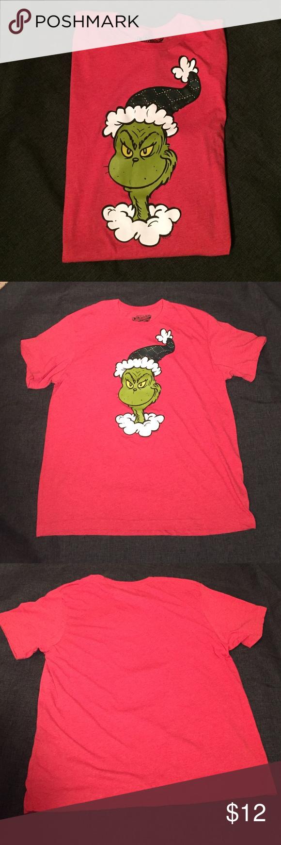 Dr Seuss Grinch Shirt | Dr seuss grinch, Grinch stole christmas and ...