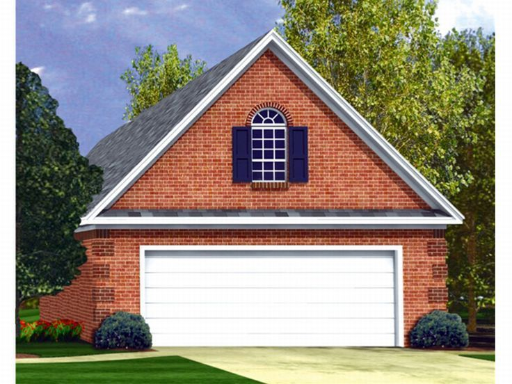 Buy The Kit That Explains How To Build The 2 Car Garage With Ioft Above.