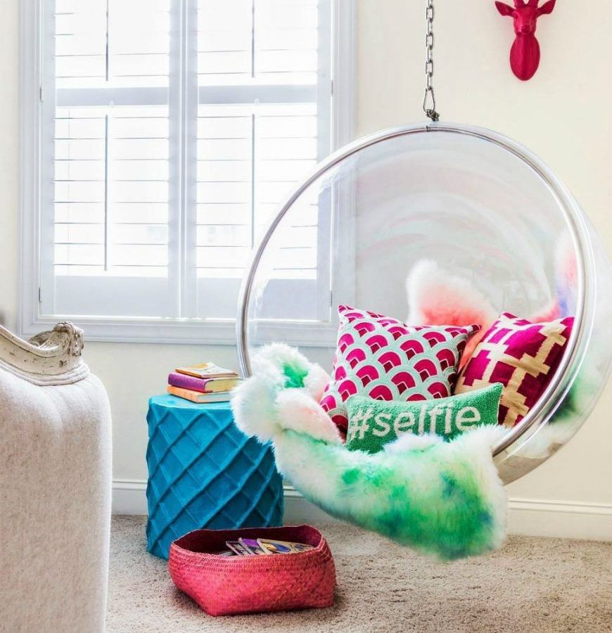 Funky Chairs For Bedrooms Cool Hanging Cute Comfy Bedroom ...