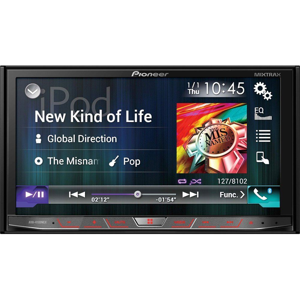 Deal Pioneer S Android Auto Avh 4100nex Head Unit For 495 3 4