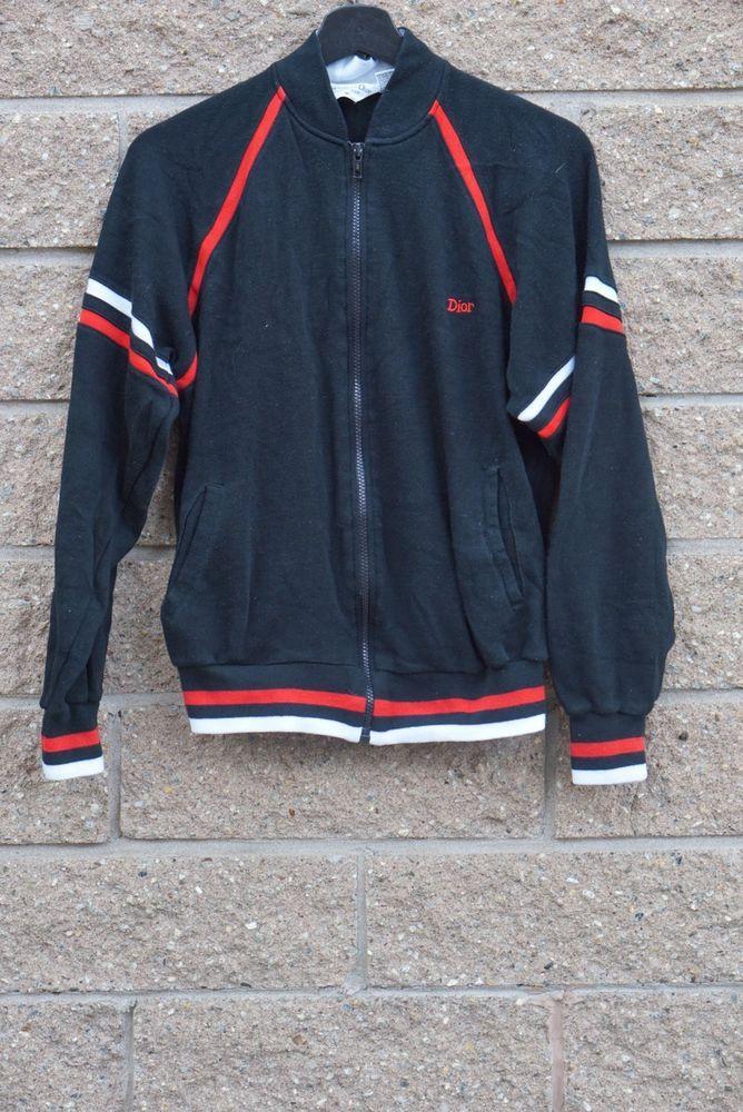 17b88c25ce54 Vintage Christian Dior Fleece Jacket
