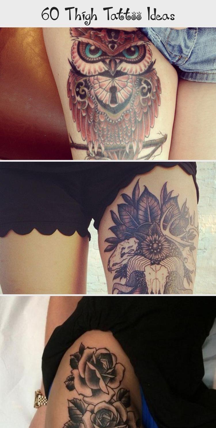 Photo of 55 Thigh Tattoo Ideas #ornamentaltattooFlash #Floralornamentaltattoo #ornamental…