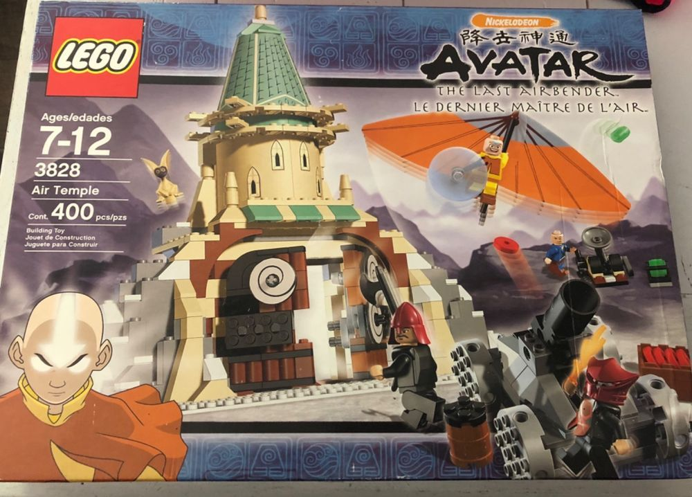 Lego Avatar The Last Air Bender Air Temple Set 3828 New In Box 400