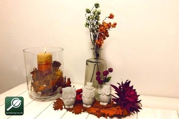 3 Diy Dekoideen Fa 1 4 R Deine Herbstdeko Herbstliche ... #herbstlichetischdeko