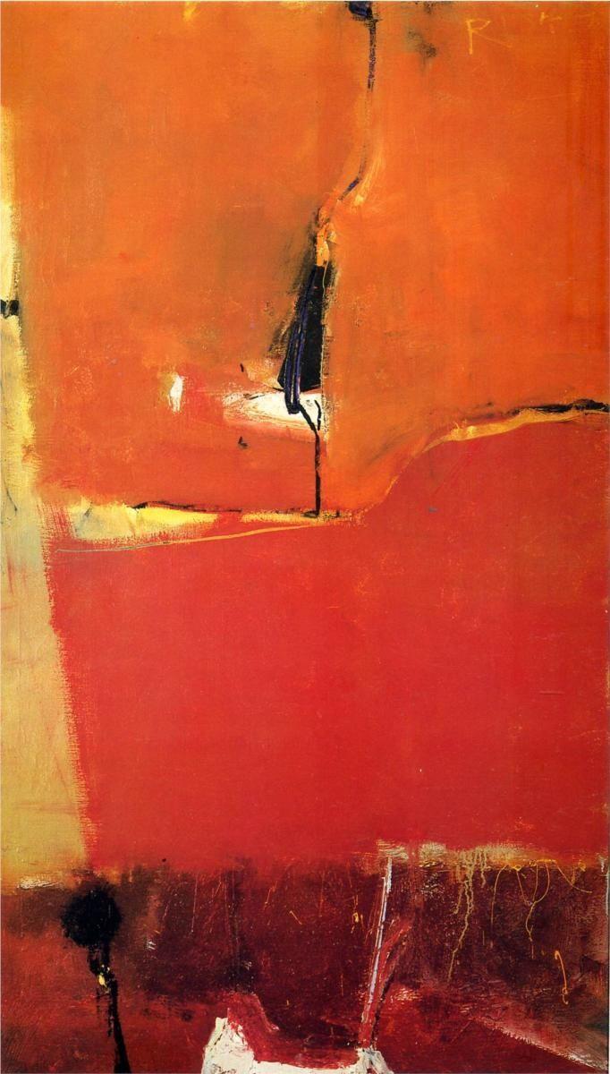 Richard Diebenkorn. Sausalito, 1949.