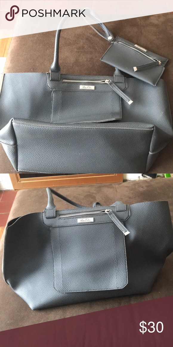Mark Fisher Grey Carry Bag Perfect For Beach Bags Totes