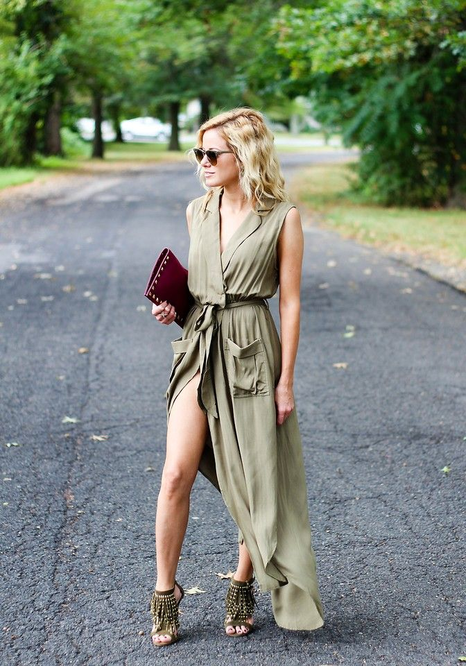6 Ways to Rock the Army Green Color  60f1747c5
