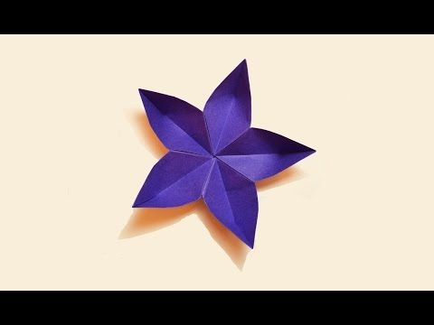 How To Make A Paper Flower Youtube Paper Flower Crafts Paper