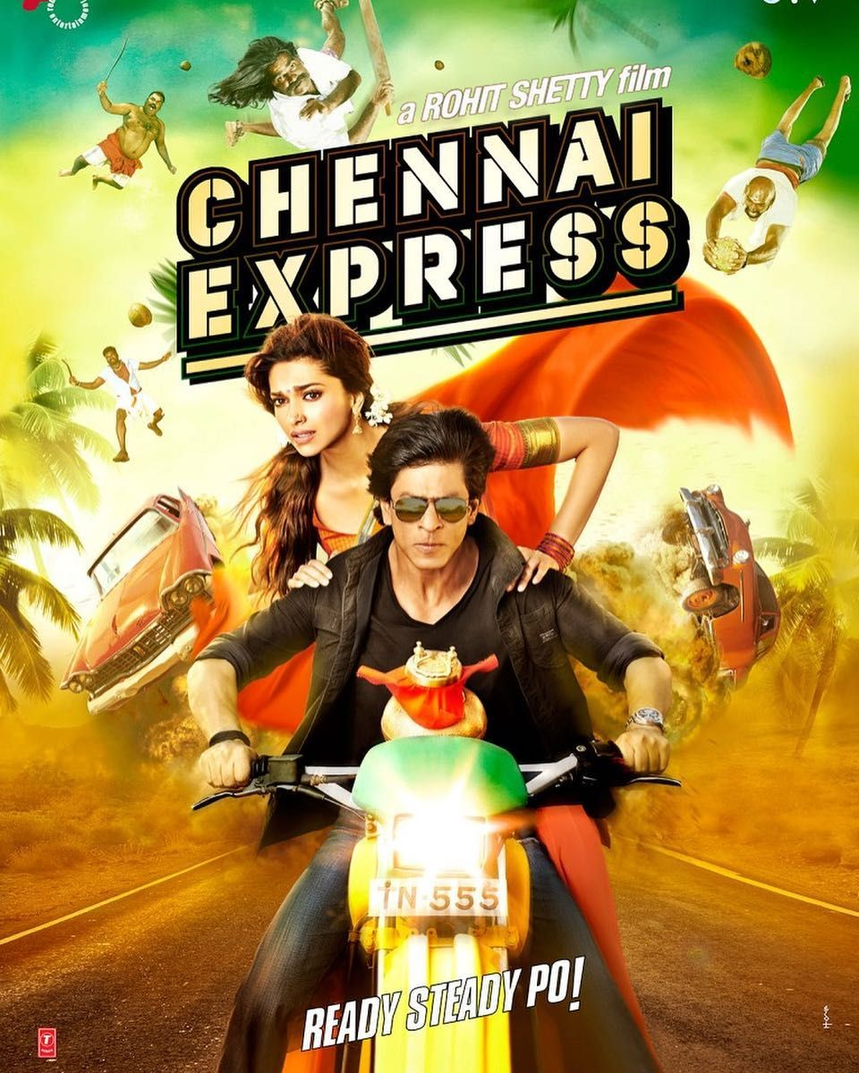 4 Years To This Magical Journey Thanks To My Audience For Making Chennai Express My Biggest Bloc Comedy Movies For Kids Chennai Express Bollywood Movies List