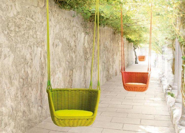 Balancelle de jardin à suspendre en 3 designs par Paola ...