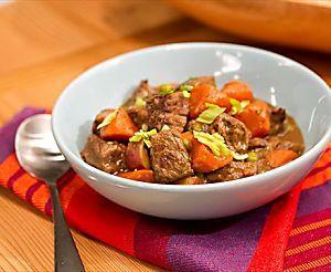 Beef Stew With Root Vegetables Recipe Food Network Recipes Beef Stew Recipe Stew Recipes