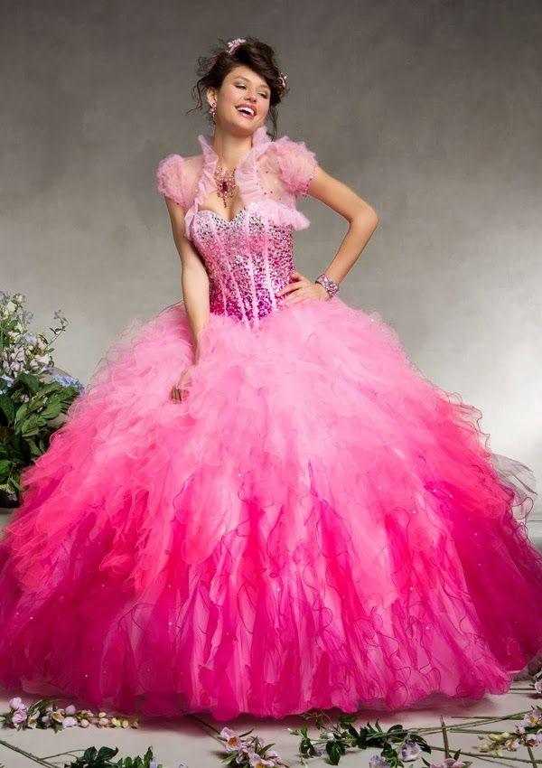 Grandiosos vestidos de Quinceanera | Coleccion Vizcaya 2014 | fiesta ...