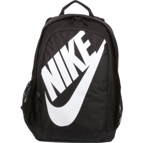 The Nike™ Hayward Futura 25M Backpack is made of nylon and polyester and  features adjustable shoulder straps with mesh backing. 8f2b340cd