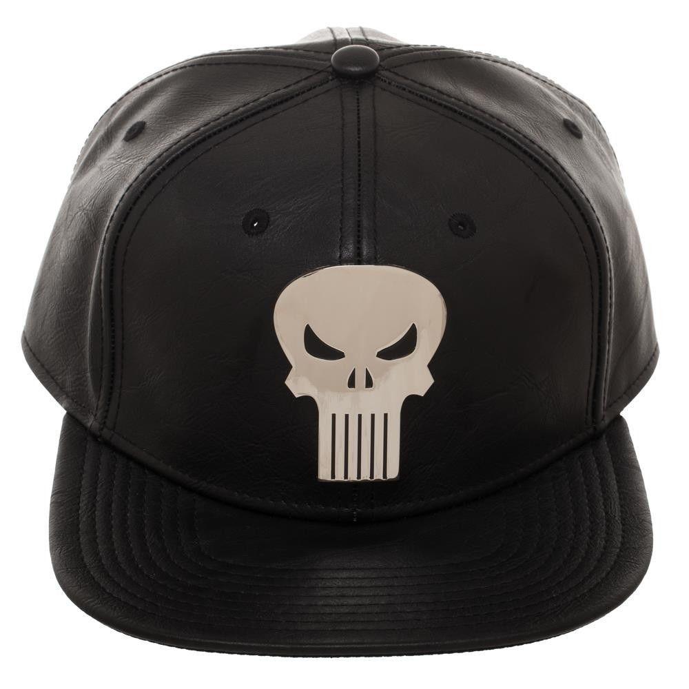timeless design c882d 07424 The Punisher Skull Suit Up PU Marvel Comics Snap Back Hat  Marvel   BaseballCap