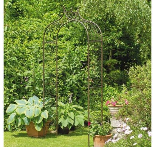 Gardman Versailles Metal Arch 2.4M | Charlies Direct | Garden ...