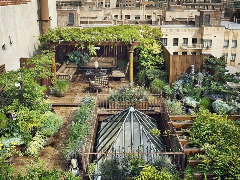 Dachterrasse gestalten - Tipps und 42 tolle Ideen - Haus & Garten ...