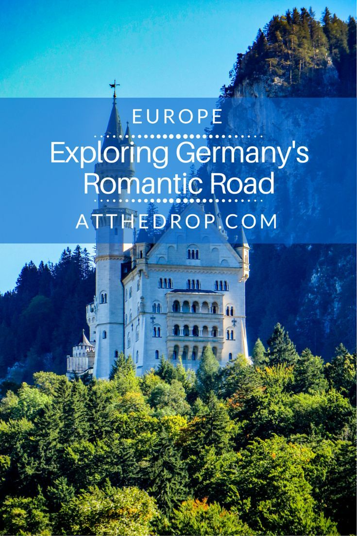 """German romanticism"" is a different romantic, highlighting the individual, emphasizing eternal customs. Discover this on Germany's Romantic Road."