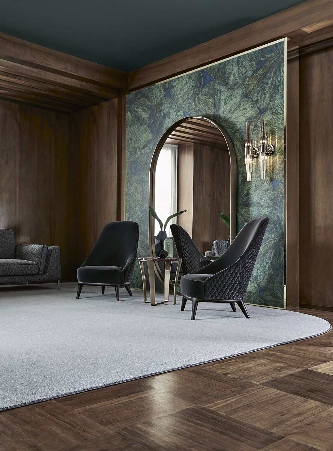 Opera Contemporary Leslie Armchair A High Comfortable Bac Contemporary Designers Furniture Da Vinci Lifestyle Contemporary Interior Design Contemporary Furniture Design Luxury Interior